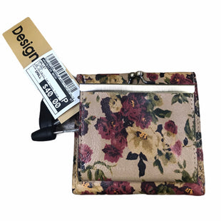 Primary Photo - BRAND: PATRICIA NASH STYLE: WALLET COLOR: FLORAL SIZE: SMALL OTHER INFO: AS IS MODEL NUMBER: REITI TAN ROSSO FIORE SKU: 207-207288-4865