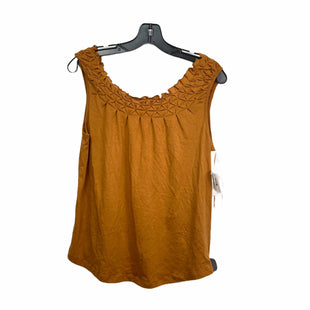 Primary Photo - BRAND: MAEVE STYLE: TOP SLEEVELESS COLOR: MUSTARD SIZE: S OTHER INFO: ANTHROPOLOGIE SKU: 207-207234-7066
