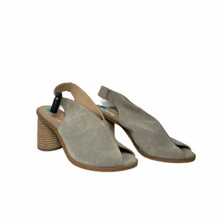 Primary Photo - BRAND: ANTHROPOLOGIE STYLE: SANDALS HIGH COLOR: BEIGE SIZE: 7.5 SKU: 207-207288-4512
