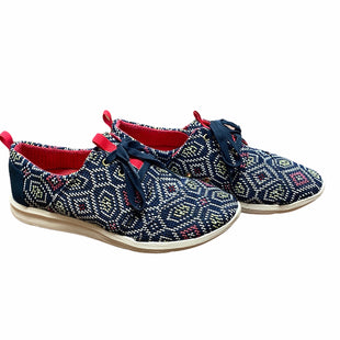 Primary Photo - BRAND: TOMS STYLE: SHOES ATHLETIC COLOR: BLUE SIZE: 7 SKU: 207-207288-2318