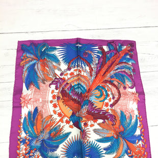 Primary Photo - BRAND: HERMES STYLE: SCARF COLOR: PURPLE OTHER INFO: AS IS -  LIGHT MARKSSKU: 207-20762-58634OTHER: LIGHT WEAR.