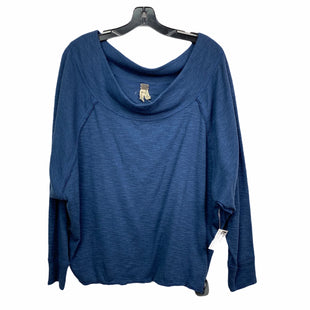 Primary Photo - BRAND: WE THE FREE STYLE: TOP LONG SLEEVE COLOR: BLUE SIZE: M SKU: 207-207288-2442