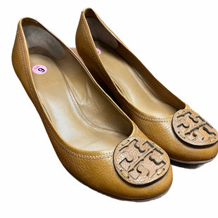 Primary Photo - BRAND: TORY BURCH STYLE: SHOES DESIGNER COLOR: BROWN SIZE: 9 SKU: 207-207297-30