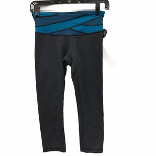 Primary Photo - BRAND: LULULEMON STYLE: ATHLETIC CAPRIS COLOR: BLACK SIZE: 4 SKU: 207-207288-2474