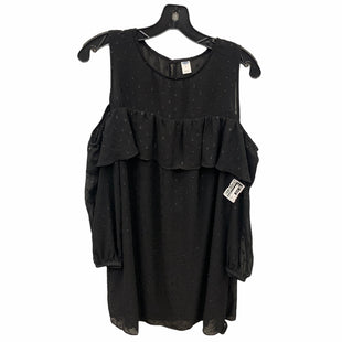 Primary Photo - BRAND: OLD NAVY STYLE: DRESS SHORT LONG SLEEVE COLOR: BLACK SIZE: M SKU: 207-207247-23435
