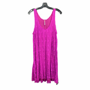 Primary Photo - BRAND: FREE PEOPLE STYLE: DRESS SHORT SLEEVELESS COLOR: MAGENTA SIZE: M SKU: 207-207247-28114