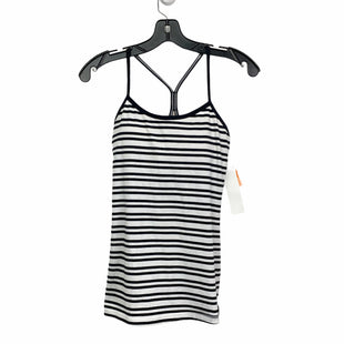 Primary Photo - BRAND: LULULEMON STYLE: ATHLETIC TANK TOP COLOR: BLACK WHITE SIZE: S SKU: 207-207234-6816