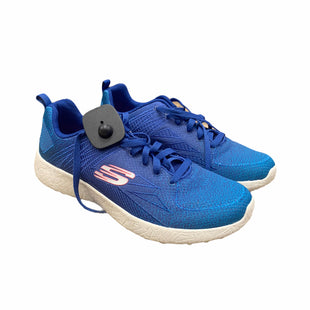 Primary Photo - BRAND: SKECHERS STYLE: SHOES ATHLETIC COLOR: BLUE SIZE: 10 SKU: 207-207139-57870