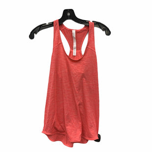 Primary Photo - BRAND: LULULEMON STYLE: ATHLETIC TANK TOP COLOR: PINK SIZE: 4 SKU: 207-207287-2381