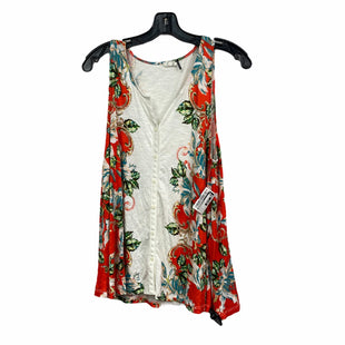 Primary Photo - BRAND: ANTHROPOLOGIE STYLE: TOP SLEEVELESS COLOR: ORANGE SIZE: S SKU: 207-207256-5040