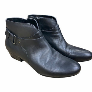 Primary Photo - BRAND: NINE WEST STYLE: BOOTS ANKLE COLOR: BLACK SIZE: 7 SKU: 207-207256-4389OTHER: SLIGHT CREASE
