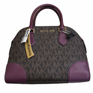 Primary Photo - BRAND: MICHAEL KORS STYLE: HANDBAG DESIGNER COLOR: PLUM SIZE: LARGE OTHER INFO: AS IS MODEL NUMBER: HATTIE BOWLING BAG SKU: 207-207278-10139