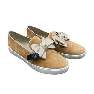 Primary Photo - BRAND: MICHAEL KORS COLLECTION STYLE: SHOES FLATS COLOR: BROWN SIZE: 6.5 MODEL NUMBER: VAL SUEDE SKATE SNEAKERS SKU: 207-207283-1249