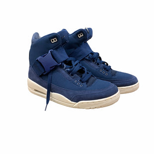 Primary Photo - BRAND: NIKE STYLE: SHOES ATHLETIC COLOR: BLUE SIZE: 8.5 OTHER INFO: AS IS MODEL NUMBER: RETRO EXPLORER XX JORDAN 3 SKU: 207-207283-1104