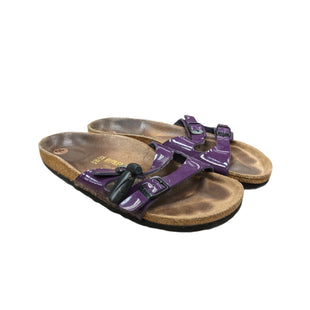 Primary Photo - BRAND: BIRKENSTOCKS STYLE: SANDALS FLAT COLOR: PURPLE SIZE: 10 OTHER INFO: AS IS SKU: 207-207288-4836