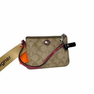 Primary Photo - BRAND: COACH STYLE: WRISTLET COLOR: BRONZE OTHER INFO: AS IS- PINK DETAILS SKU: 207-207287-3214