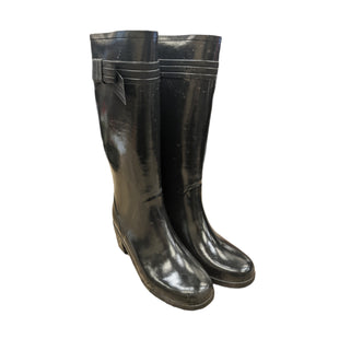 Primary Photo - BRAND: KATE SPADE STYLE: BOOTS DESIGNER COLOR: BLACK SIZE: 9 OTHER INFO: AS IS- RAIN BOOTS SKU: 207-207139-55989