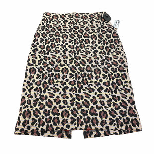 Primary Photo - BRAND: MAEVE STYLE: SKIRT COLOR: ANIMAL PRINT SIZE: S. OTHER: ANTHROPOLOGIE SKU: 207-207139-56385.