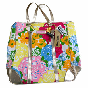 Primary Photo - BRAND: LILLY PULITZER STYLE: HANDBAG DESIGNER COLOR: MULTI SIZE: LARGE MODEL NUMBER: TOTE BAG SKU: 207-207278-10228