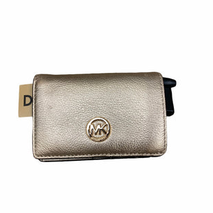 Primary Photo - BRAND: MICHAEL KORS STYLE: WALLET COLOR: GOLD SIZE: SMALL SKU: 207-207291-760