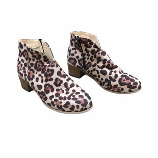 Primary Photo - BRAND: MATISSE STYLE: BOOTS ANKLE COLOR: ANIMAL PRINT SIZE: 10 SKU: 207-207256-1206