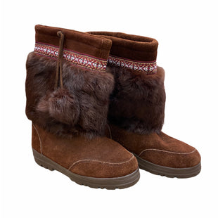 Primary Photo - BRAND: MINNETONKA STYLE: BOOTS KNEE COLOR: BROWN SIZE: 7 SKU: 207-207278-7506