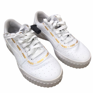 Primary Photo - BRAND: PUMA STYLE: SHOES LOW HEEL COLOR: WHITE SIZE: 7 SKU: 207-207278-10276