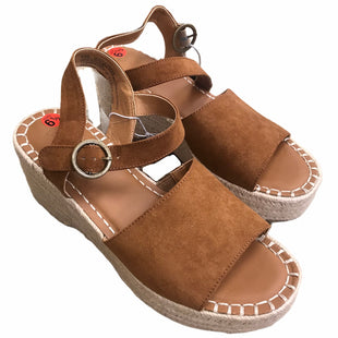 Primary Photo - BRAND: UNIVERSAL THREAD STYLE: SANDALS HIGH COLOR: BROWN SIZE: 8.5 SKU: 207-207278-10110