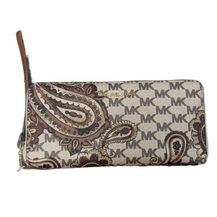 Primary Photo - BRAND: MICHAEL KORS STYLE: WALLET COLOR: PAISLEY SIZE: LARGE OTHER INFO: AS IS MODEL NUMBER: JET SET DANIELA SKU: 207-207288-4845