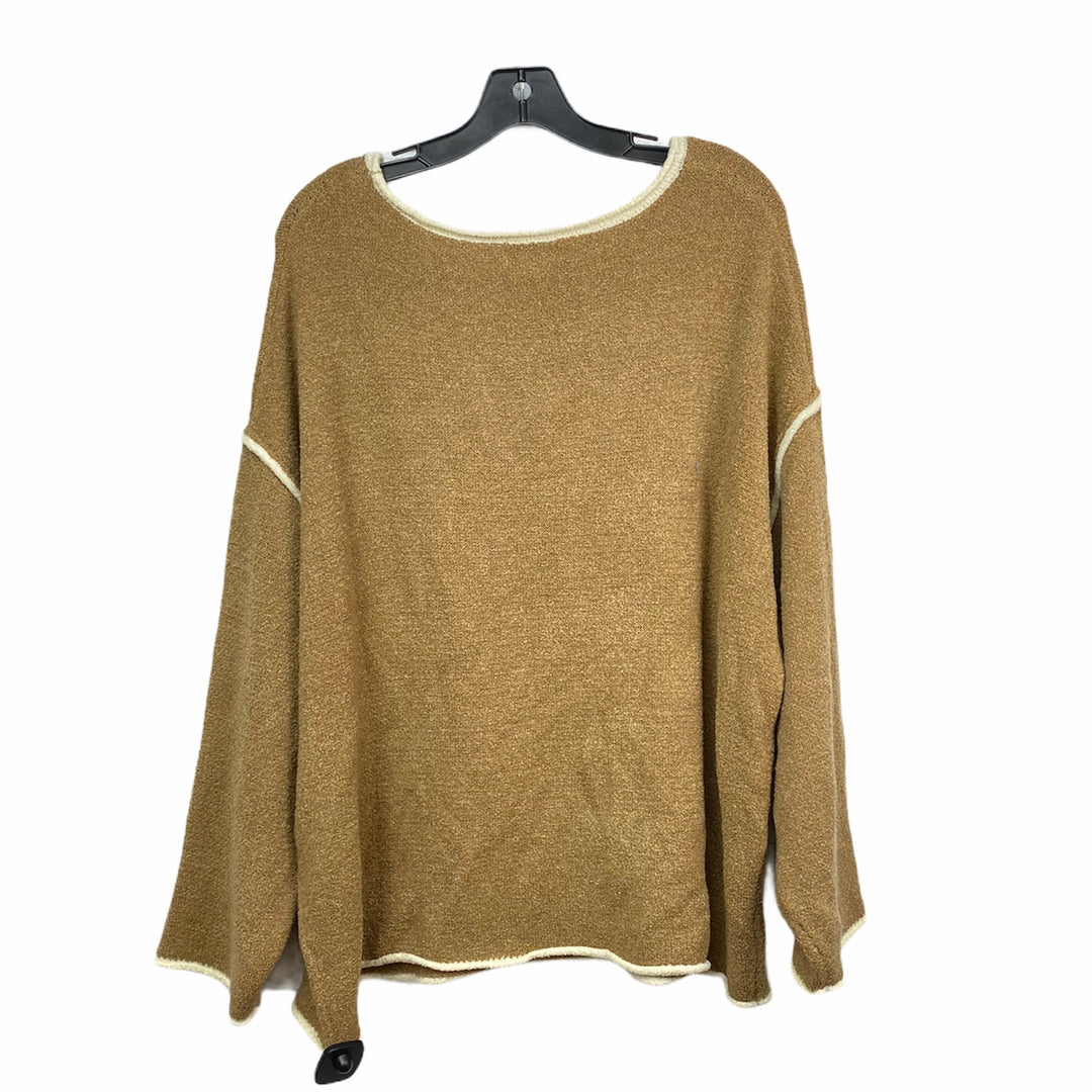Photo #1 - BRAND: VESTIQUE <BR>STYLE: SWEATER HEAVYWEIGHT <BR>COLOR: BROWN <BR>SIZE: M <BR>SKU: 207-207234-7058