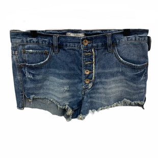 Primary Photo - BRAND: FREE PEOPLE STYLE: SHORTS COLOR: DENIM SIZE: 4 SKU: 207-207234-4499