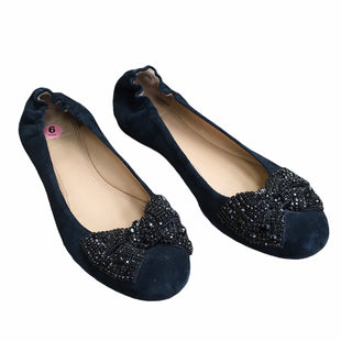 Primary Photo - BRAND: TORY BURCH STYLE: SHOES DESIGNER COLOR: NAVY SIZE: 9 OTHER INFO: AS IS SKU: 207-207299-776
