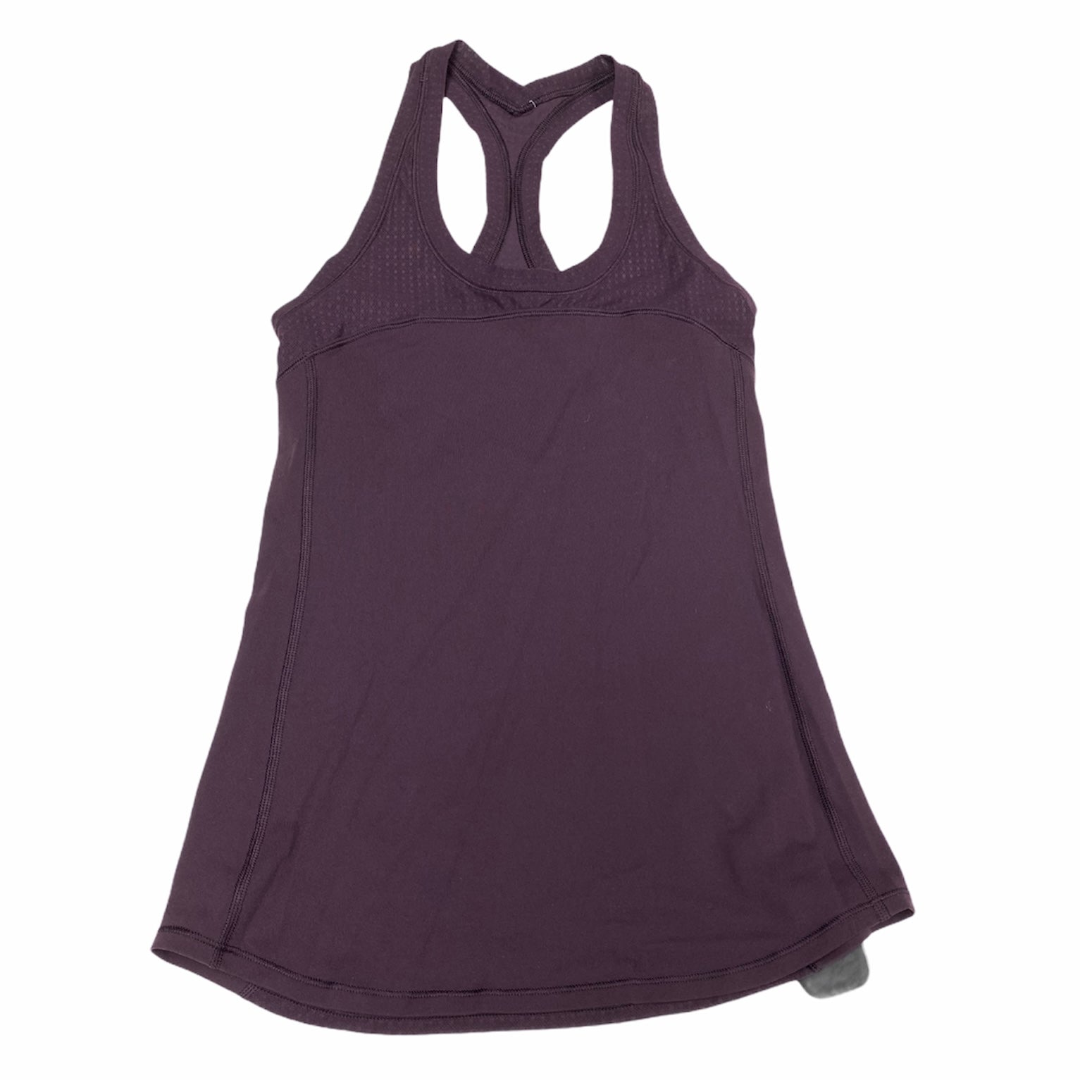 Primary Photo - BRAND: LULULEMON <BR>STYLE: ATHLETIC TANK TOP <BR>COLOR: EGGPLANT <BR>SIZE: S <BR>OTHER INFO: 4 <BR>SKU: 207-207139-57665