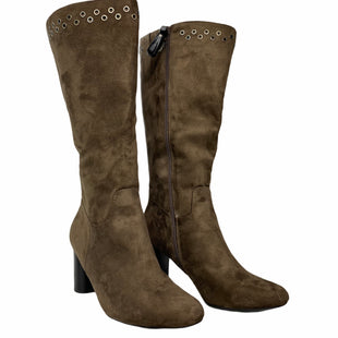 Primary Photo - BRAND: KIM ROGERS STYLE: BOOTS KNEE COLOR: BROWN SIZE: 9 SKU: 207-207247-29927