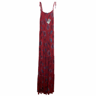Primary Photo - BRAND: FREE PEOPLE STYLE: DRESS LONG SLEEVELESS COLOR: RED SIZE: XS SKU: 207-207282-1301
