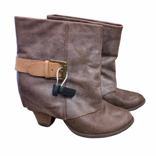 Primary Photo - BRAND:    CLOTHES MENTOR STYLE: BOOTS ANKLE COLOR: BROWN SIZE: 8 OTHER INFO: MOJO MOXY - SKU: 207-207139-55337