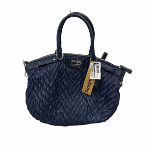 Primary Photo - BRAND: COACH STYLE: HANDBAG DESIGNER COLOR: NAVY SIZE: MEDIUM OTHER INFO: AS IS MODEL NUMBER: 70TH ANNIVERSARY SPECIAL EDITION SKU: 207-207299-744