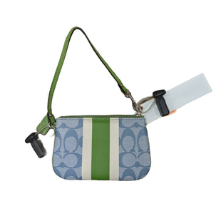 Primary Photo - BRAND: COACH STYLE: WRISTLET COLOR: BLUE GREEN OTHER INFO: AS IS SKU: 207-207283-543