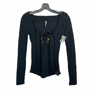 Primary Photo - BRAND: FREE PEOPLE STYLE: TOP LONG SLEEVE COLOR: BLACK SIZE: XS SKU: 207-207278-5933