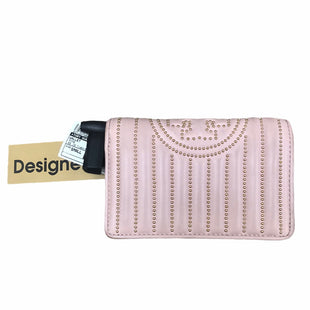 Primary Photo - BRAND: TORY BURCH STYLE: WALLET COLOR: PINK SIZE: SMALL OTHER INFO: AS IS MODEL NUMBER: FLEMING WALLET MINI SKU: 207-207288-4846