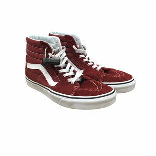 Primary Photo - BRAND: VANS STYLE: SHOES LOW HEEL COLOR: BURGUNDY SIZE: 11.5 SKU: 207-207299-1744