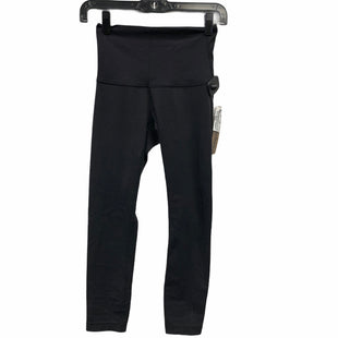 Primary Photo - BRAND: LULULEMON STYLE: ATHLETIC PANTS COLOR: BLACK SIZE: 4 SKU: 207-207288-2475