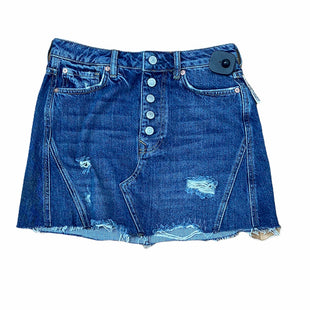Primary Photo - BRAND: WE THE FREE STYLE: SKIRT COLOR: DENIM SIZE: 4. OTHER: FREE PEOPLESKU: 207-207264-11856.
