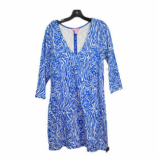 Primary Photo - BRAND: LILLY PULITZER STYLE: DRESS DESIGNER COLOR: BLUE SIZE: L SKU: 207-207264-11736