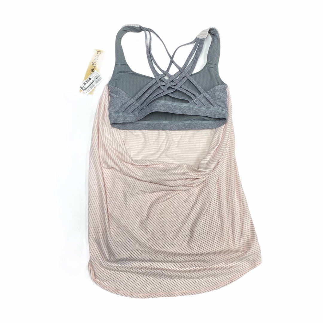 Photo #1 - BRAND: LULULEMON <BR>STYLE: ATHLETIC TANK TOP <BR>COLOR: PINKGRAY <BR>SIZE: S <BR>OTHER INFO: 4 <BR>SKU: 207-207139-57666