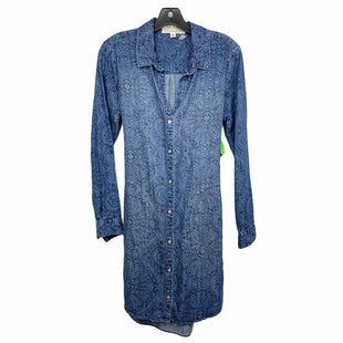 Primary Photo - BRAND: ANTHROPOLOGIE STYLE: DRESS SHORT LONG SLEEVE COLOR: DENIM SIZE: XS SKU: 207-207287-1492