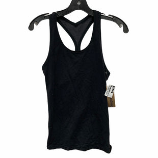 Primary Photo - BRAND: LULULEMON STYLE: ATHLETIC TANK TOP COLOR: BLACK SIZE: S OTHER INFO: AS IS SKU: 207-207264-11907