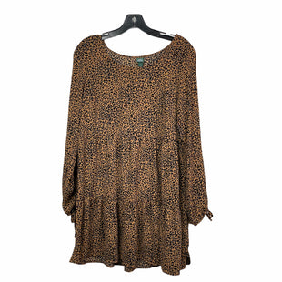 Primary Photo - BRAND: WILD FABLE STYLE: DRESS SHORT LONG SLEEVE COLOR: ANIMAL PRINT SIZE: S SKU: 207-207139-55610