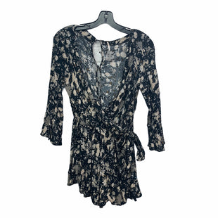 Primary Photo - BRAND: FREE PEOPLE STYLE: DRESS SHORT LONG SLEEVE COLOR: BLACK WHITE SIZE: XS SKU: 207-207247-21866