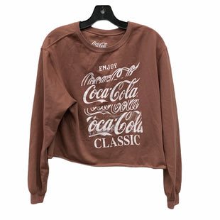Primary Photo - BRAND:    CLOTHES MENTOR STYLE: TOP LONG SLEEVE COLOR: MAUVE SIZE: XL OTHER INFO: COCA COLA  - SKU: 207-207256-4921